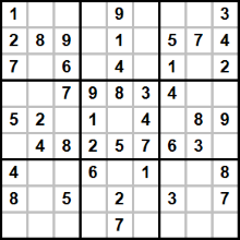 Create Free Printable Number And Word Sudoku Puzzles At Either 9x9 Or 4x4 In Various Difficulty Levels