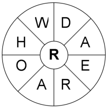 Archery Word Wheel
